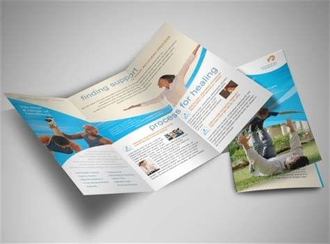 Therapy Brochure Templates by Occupational Physical Therapy Services Brochure Templates