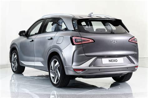 Models Of Hyundai Cars by New Hyundai Nexo Hydrogen Suv Heading For Uk In January