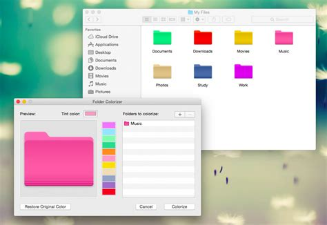 Folder Colorizer For Mac Os X