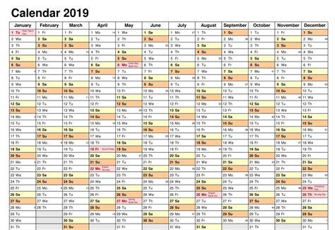 editable calendar excel  printable planner