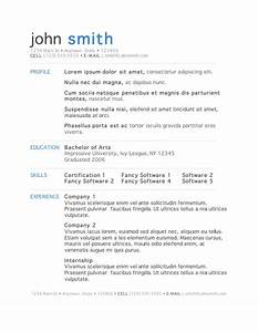 50 free microsoft word resume templates for download With resume free download word