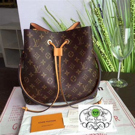 louis vuitton neo noe monogram lv sling bag bags