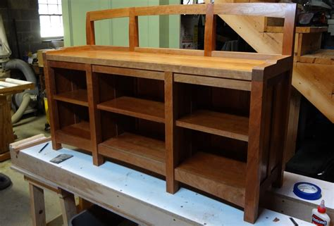 window seat bookcase   jeff branch woodworking