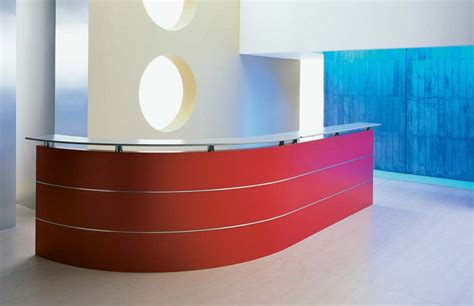 modern reception desk design reception area decoration for attracting welcoming room