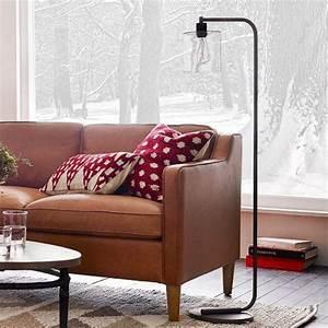 lens floor lamp i west elm With adjustable glass floor lamp west elm