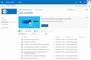 Microsoft cloud with nik patel logs from the field for Document library experience