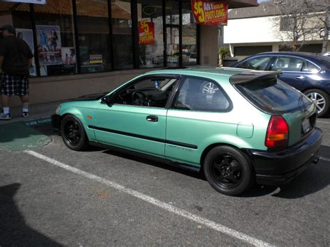 Honda Civic Hatchback Modification by Hypnotik714 1996 Honda Civicdx Hatchback 2d Specs Photos