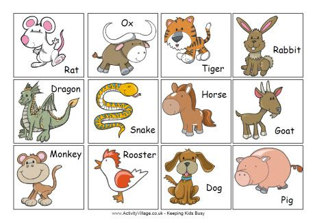 chinese zodiac animal noises