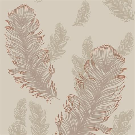 sirius feather wallpaper rose gold wallpaper   love