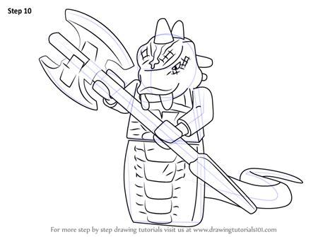 learn   draw skalidor  ninjago ninjago step