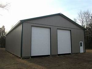 108 best images about two car garages on pinterest With 30 x 56 pole barn