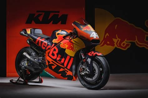 red bull ktm factory racing unveils rc bike