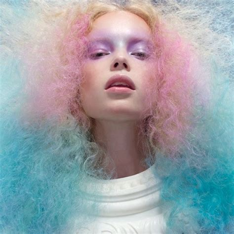 cotton candy hair pictures   images