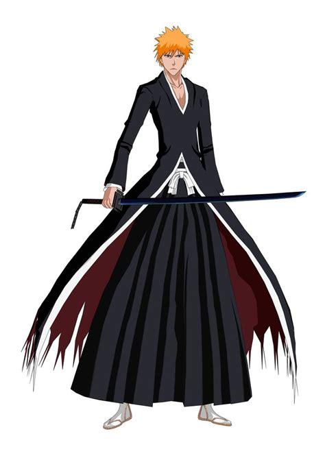 anime bankai anime character kurosaki ichigo bankai