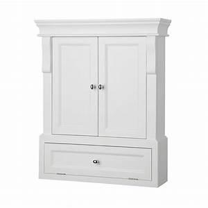 White Wall Cabinet for Bathroom - Decor IdeasDecor Ideas
