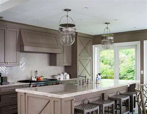 Taupe Kitchen Walls Design Ideas