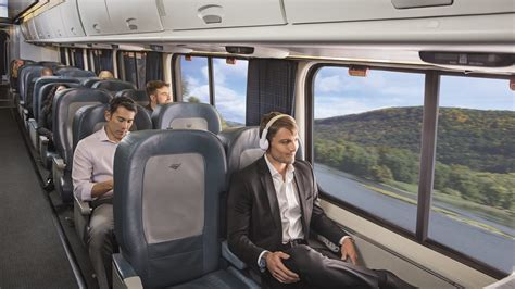 upgrade  business travel aboard acela amtrak