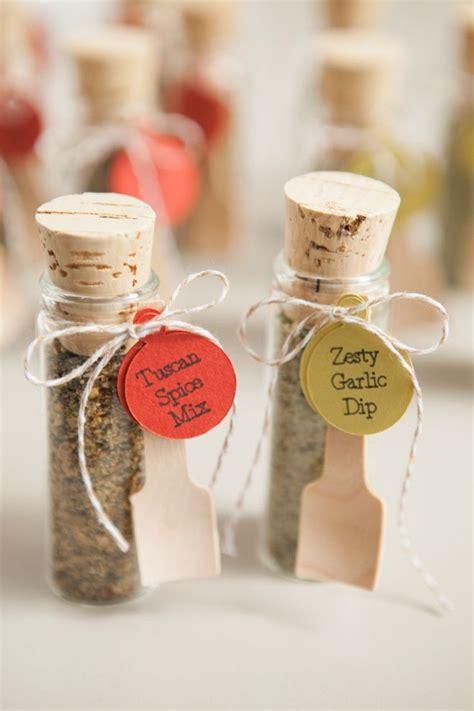 make your own adorable spice dip mix wedding favors diy