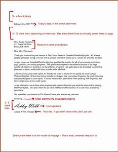 professional business letter sample letters free With business letter format sample