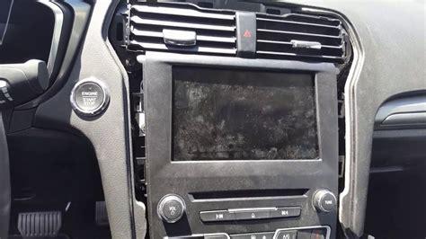 replace  radio  apim   ford fusion youtube