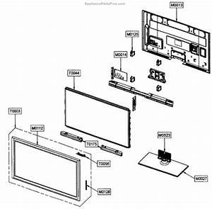Parts For Samsung Pn50c450b1dxza  Plasma Tv Cabinet Parts