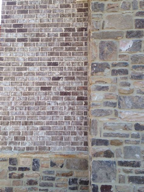 brick stone chase mortar ivory brick close ups