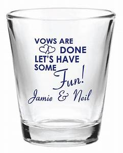 96 personalized 15oz wedding favor glass shot by factory21 With shot glass wedding favors