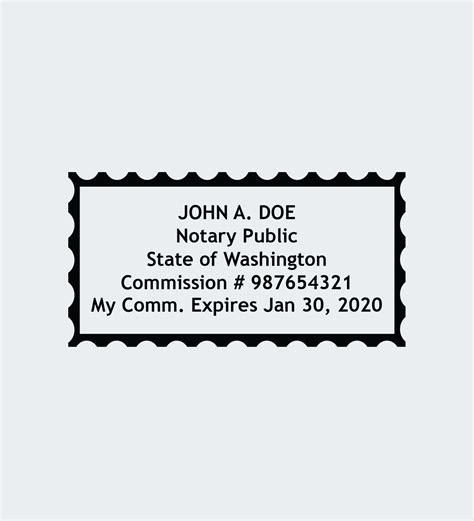 washington notary seals nna