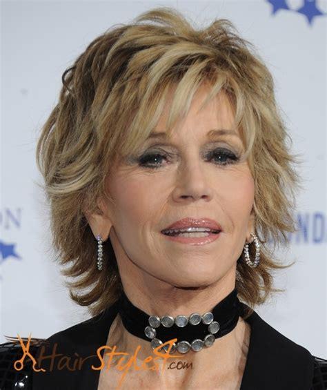 Jane Fonda Hairstyles   HairStyles4.Com