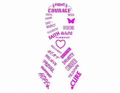Cancer Breast Inspiration Ribbon M2 Digital Awareness