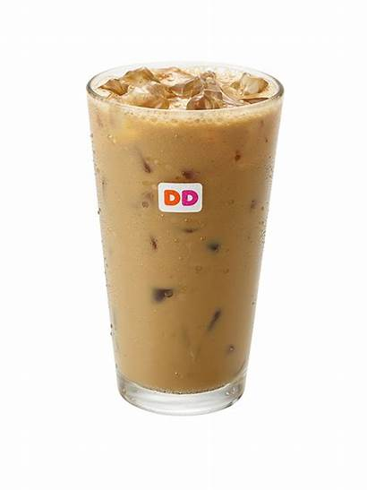 Dunkin Donuts Coconut Iced Coffee Advertisement Announces