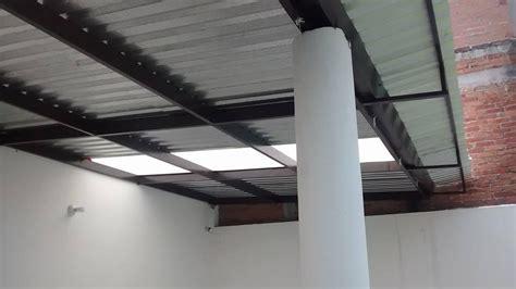 techos de lamina tejados  patio morelia