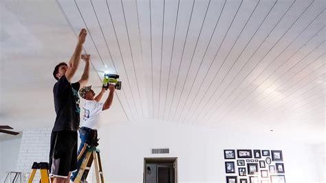ideashiplap   ceiling youtube