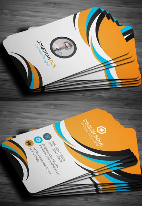 modern business cards design  creative examples