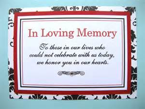 basket for wedding programs 5x7 flat in loving memory wedding sign in black and white