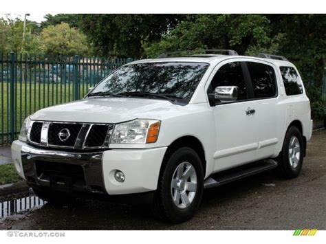 white nissan 2004 blizzard white nissan armada le 4x4 72766354 photo