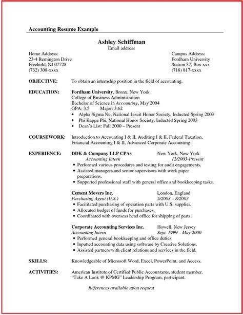 accountant resume sample canada httpwwwjobresume