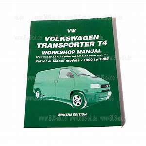 T4 Workshop Manual Volkswagen Transporter  Bus
