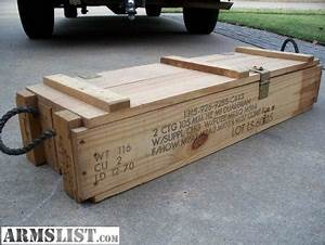 ARMSLIST - For Sale: wooden ammo boxes New office
