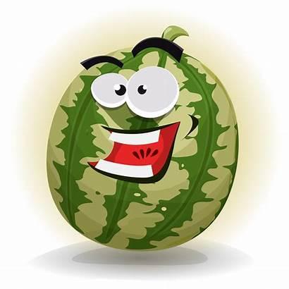 Character Watermelon Vector Cartoon Funny Vecteezy Related