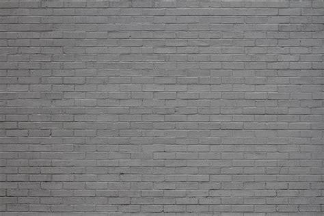 Painted Gray Brick Wall Texture Set