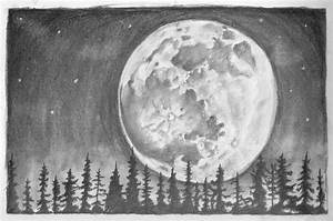 Moon SKetch by eldon14 on DeviantArt