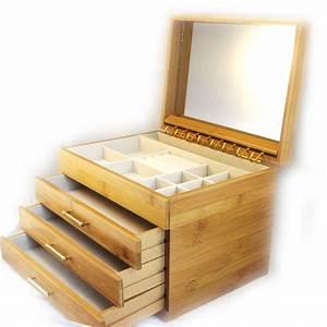 Boite A Bijoux En Bois : boite a bijoux en bois brut visuel 7 ~ Teatrodelosmanantiales.com Idées de Décoration