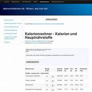 Broteinheiten Berechnen Formel : kalorienrechner n hr brennwertberechnung be pearltrees ~ Themetempest.com Abrechnung