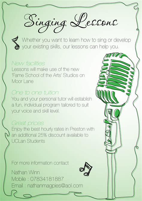 john wendels nathan winn singing lessons flyer
