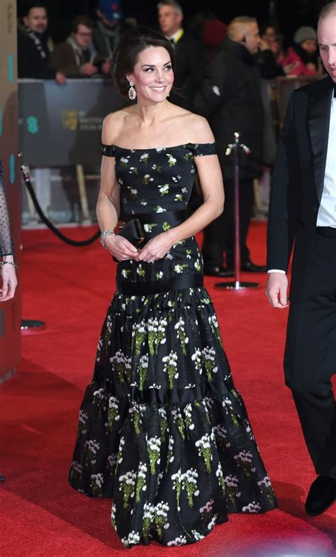 Kate Middleton's Dress at BAFTA Awards 2018 | POPSUGAR ...