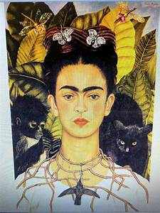 FRIDA KAHLO 24X36 POSTER ARTIST WOMAN FEMALE GREAT MEXICO ...