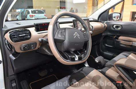 Citroen C4 Cactus W Steering Wheel At The 2018 Geneva