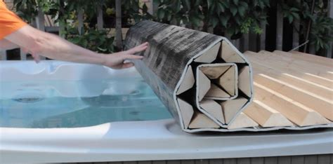 home made tub cover 17 best images about custom roll up tub spa covers