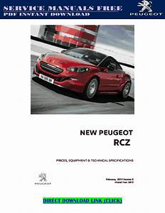 Peugeot Rcz Service Manual Pdf By Andrewmuscle